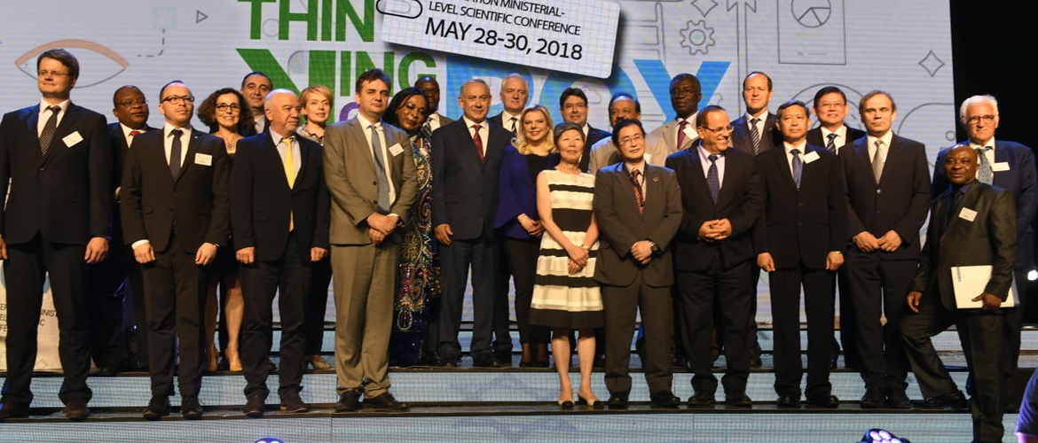 Dr. Harsh Vardhan, Minister for Science & Technology, Ministry of Environment, Forest and Climate Change and Ministry of Earth Sciences visited Israel from May 27-29 for the first International Conference of Science Ministers in Israel
